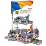 Castelul Peles Romania - Puzzle 3D - 179 de piese, cubic fun