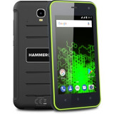 Telefon Mobil Hammer Active, Procesor Quad-Core 1.3GHz, IPS Capacitive touchscreen 4.7, 1GB RAM, 8GB Flash, 8MP, Wi-Fi, 3G, Dual Sim, Android, MyPhone