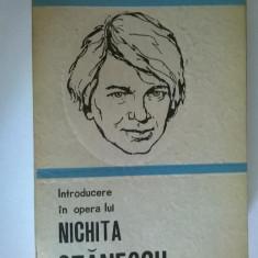 Alex. Stefanescu – Introducere in opera lui Nichita Stanescu