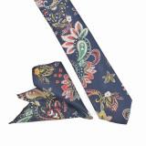Cravata neagra paisley batista Lourie, ONORE