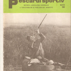 Revista Vanatorul si pescarul sportiv  nr.3-1980