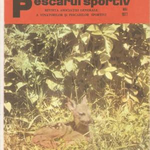 Revista Vanatorul si pescarul sportiv   nr.5-1977