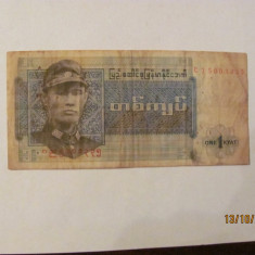 CY - Kyat 1972 Burma