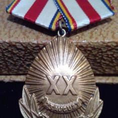 Medalia 23 August 1944-1964 Republica Populara Romana + cutie & Bareta - SUPERBA
