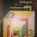 Tabele matematice uzuale E.Rogai editura Tehnică 1975