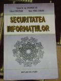 RWX 26 - SECURITATEA INFORMATIILOR - GHEORGHE ILIE - EDITATA IN 1996