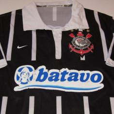 Tricou fotbal-CORINTHIANS PAULISTA (nr.9 jucatorul RONALDO Luís Nazário de Lima), M, Din imagine, De club