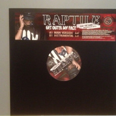 "RAPTILE – GOT OUTTA MY FACE (2000/MONSTABLOKAZ) - VINIL Maxi-Single ""12/RAP/NM, warner"