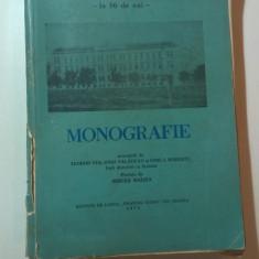 """LICEUL ,,EMANUIL GOJDU"""" - LA 50 DE ANI - MONOGRAFIE de TREI FOSTI DIRECTORI"""