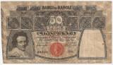 ITALIA 50 LIRE 1911 BANCO DI NAPOLI VF