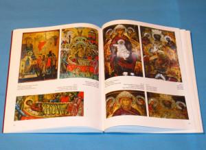 Album ICOANE DIN TARGOVISTE, SEC. XVI-XIX, ed. trilingva, M.Georgescu; Nou!