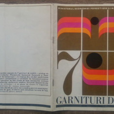 Catalog garnituri de mobila// Romania, perioada comunista
