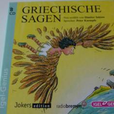 Griechische sagen - 8 cd
