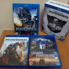 Trilogia Transformers [Blu-Ray Disc]  fara  subtitrare  in limba romana, BLU RAY, Engleza, universal pictures