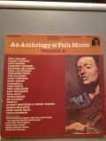 AN ANTHOLOGY OF FOLK MUSIC vol II - 4LP BOX SET (1983/SINE QUA NON/USA) - Vinil