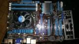 Vand kit placa de baza Asus P8H77-V + Intel i3-2100 3,1 ghz, Pentru INTEL, 1155, DDR 3