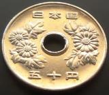 Moneda EXOTICA 50 YEN - JAPONIA, anul 1998, Yr. 10 , Akihito (Heisei) *Cod 4640, Asia