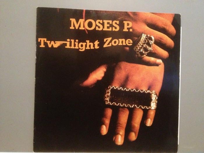 """MOSES P. – TWILIGHT ZONE (1988/LOGIC /RFG)  - VINIL Maxi-Single """"12/RAP/NM"""