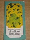 Myh 62 - VINZATORUL DE SUNETE - CONSTANTIN OLARIU - EDITATA IN 1985