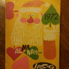 Almanah URZICA 1972 / R6P1F