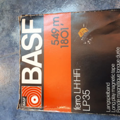 Bandă de magnetofon  basf 18 cm 549m