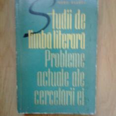 n8 STUDII DE LIMBA LITERARA - PROBLEME ACTUALE ALE CERCETARII EI-BORIS CAZACU