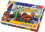 Puzzle Gata de cursa, 100 piese, Trefl