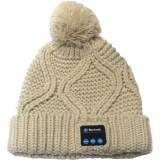 Caciula cu casti handsfree Bluetooth Serioux (alb)