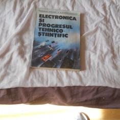 Gh. Ardelean ,Alexandru Mihalcea - Electronica si progresul tehnico-stiintific, Alta editura, 1989