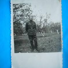 HOPCT 207 E  IN LIVADA  -FOTOGRAFIE MILITAR ROMAN-78/58 MM