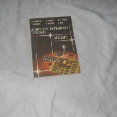 CIRCUITE INTEGRATE LINIARE APLICATII Ciugudean,1986, Alta editura