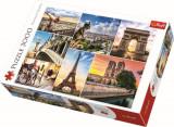 Puzzle Magia Parisului, 3000 piese, Trefl