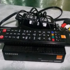 RECEIVER HD ORANGE SAMSUNG MODEL GX-OR530SK FUNCTIONAL+ACCESORII