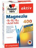 Aktiv Magneziu 400 + B1 + B6 + B12 + Acid folic 30 comprimate DoppelHerz