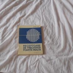RECEPTOARE DE FRECVENTA FOARTE INALTA - DUMITRU COJOC, 1987