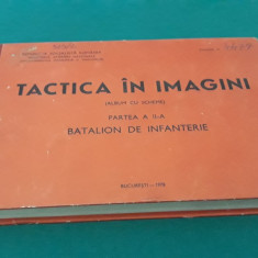 TACTICA ÎN IMAGINI *ALBUM CU SCHEME /PARTEA A II-A/1978