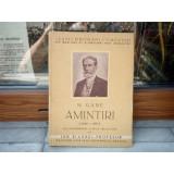 Amintiri (1848-1891) , N. Gane , 1941, 2015