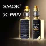 Kit SMOK X-Priv 225W cu Atomizor TFV12 Prince - Gold
