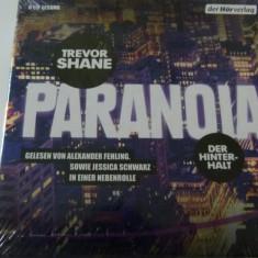 Paranoia - Trevor shane - 6 cd