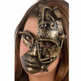 Masca Half-Face Steampunk - Carnaval24