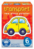 Set 6 Puzzle Transport (2 Piese), orchard toys