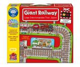 Puzzle Gigant De Podea Cale Ferata (26 Piese) Giant Railway, orchard toys