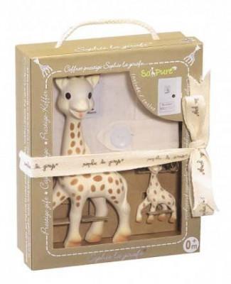 Set cadou Prestige So Pure Girafa Sophie cu breloc - Vulli foto