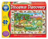 Puzzle In Limba Engleza Lumea Dinozaurilor (150 Piese) Dinosaur Discovery, orchard toys