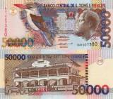 SAO TOME SI PRINCIPE 50.000 dobras 1996 UNC!!!