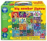 Puzzle De Podea Invata Numerele (De La 1 La 20) Big Number Jigsaw, orchard toys
