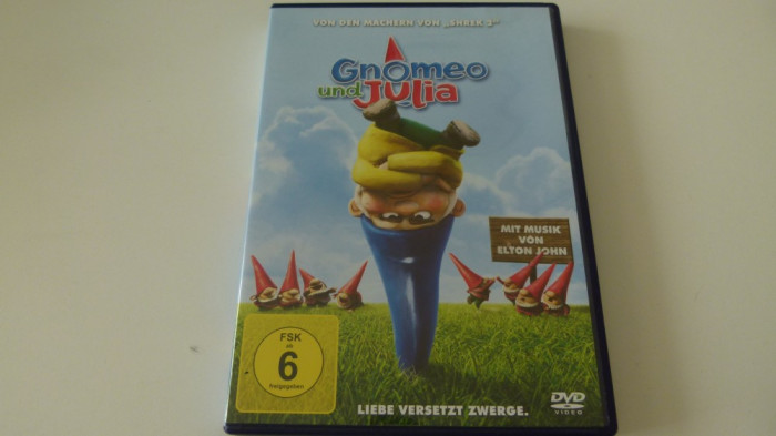 gnomeo and julia - dvd