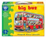 Puzzle De Podea Autobuzul (15 Piese) Big Bus, orchard toys