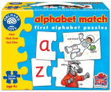 Joc Educativ - Puzzle In Limba Engleza Invata Alfabetul Prin Asociere Alphabet Match, orchard toys