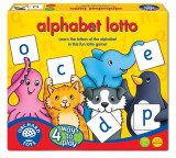 Joc Educativ Loto In Limba Engleza Alfabetul Alphabet Lotto, orchard toys